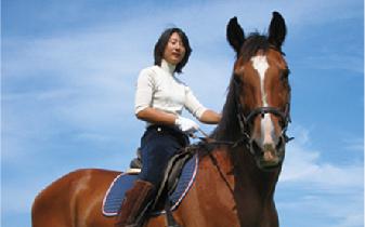 ファーム・クラインガルテン/70歳まで楽しめる乗馬2日コース招待券(お一人様¥4,400相当)