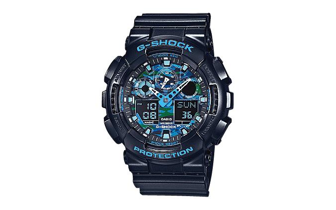 スペースシャワーTV G-SHOCK ロゴ入り腕時計