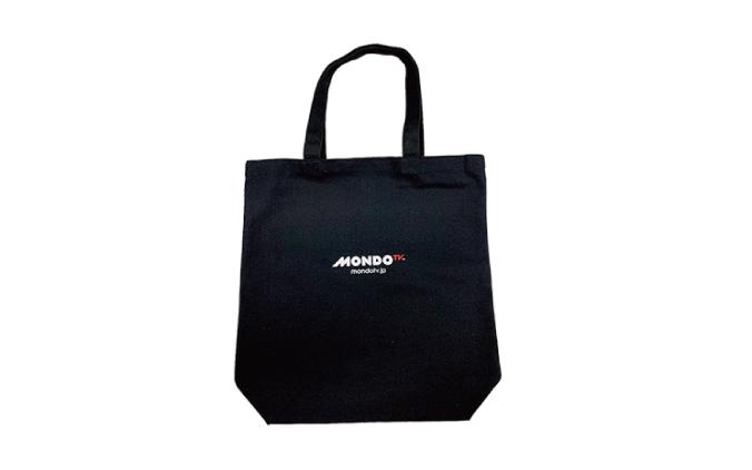 MONDO TV ロゴ入りトートバッグ